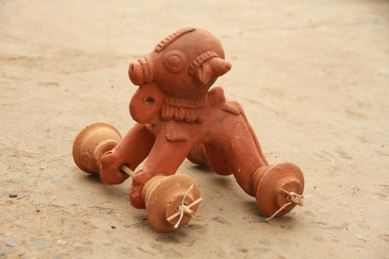 Ekibeki Clay animal