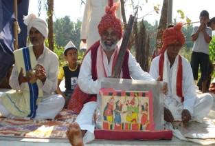 chitrakathi artist