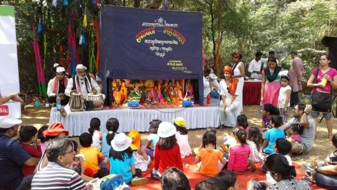 chitrakathi performance